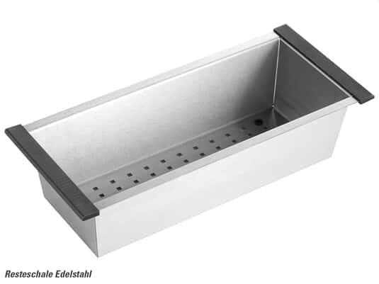 Produktabbildung Resteschale Edelstahl 0831