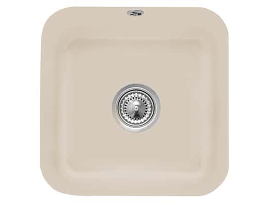 Villeroy & Boch Cisterna 50 Almond - 6703 01 AM Keramikspüle Handbetätigung