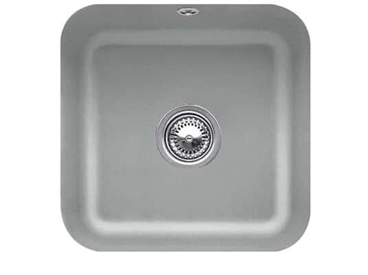 Villeroy & Boch Cisterna 50 Stone - 6703 01 SL Keramikspüle Handbetätigung