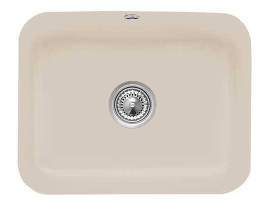 Villeroy & Boch Cisterna 60C Almond - 6706 01 AM Keramikspüle Handbetätigung