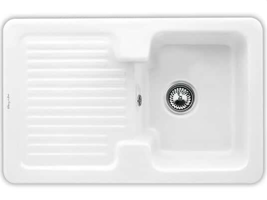 Produktabbildung Condor 45 mit Handbetätigung in Weiß (alpin)