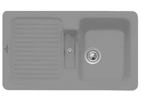 Villeroy & Boch Condor 50 Stone - 6732 01 SL Keramikspüle Handbetätigung