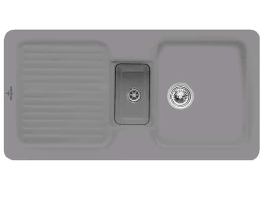 Villeroy & Boch Condor 60 Stone - 6759 01 SL Keramikspüle Handbetätigung