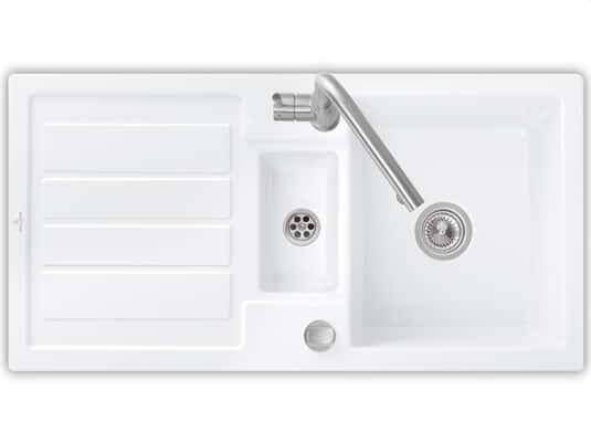 Produktabbildung Flavia 60 mit Excenterbetätigung in Weiß (alpin)