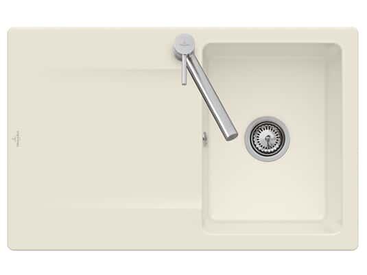 Produktabbildung Siluet 45 Reversibel mit Hanbetätigung in Ivory