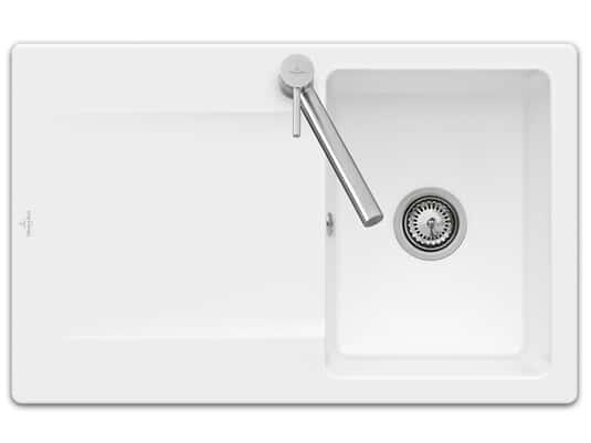 Produktabbildung Siluet 45 Reversibel mit Hanbetätigung in Stone White