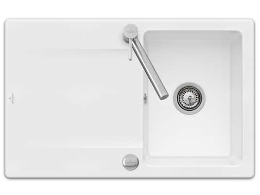Produktabbildung Siluet 45 Reversibel mit Excenterbetätigung in Weiß (alpin)