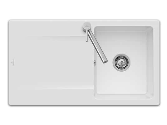 Produktabbildung Siluet 50 Reversibel mit Handbetätigung in Snow White