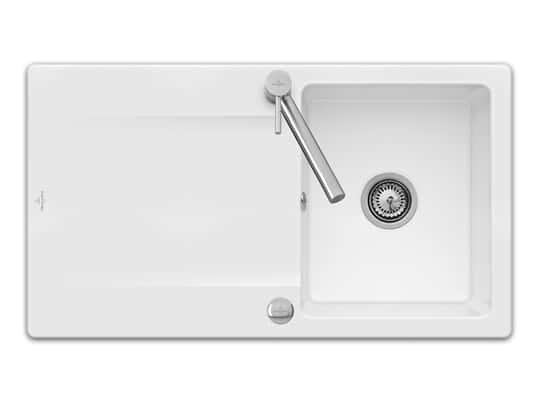 Produktabbildung Siluet 50 Reversibel mit Excenterbetätigung in Weiß (alpin)