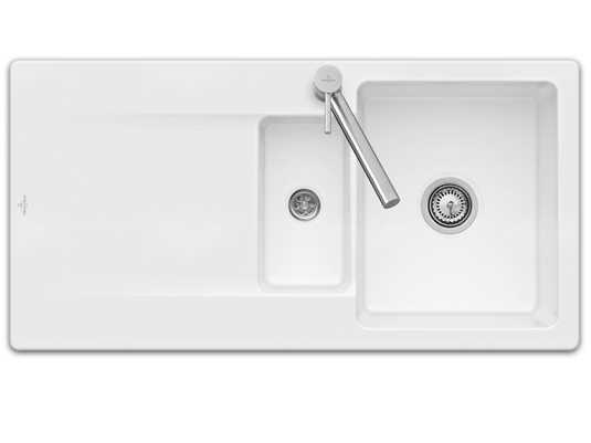 Produktabbildung Siluet 60 R Reversibel mit Hanbetätigung in Weiß (alpin)
