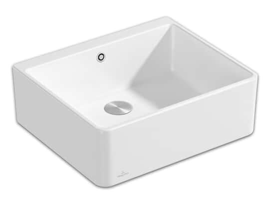Produktabbildung Spülstein 60 X mit Excenterbetätigung in Stone White