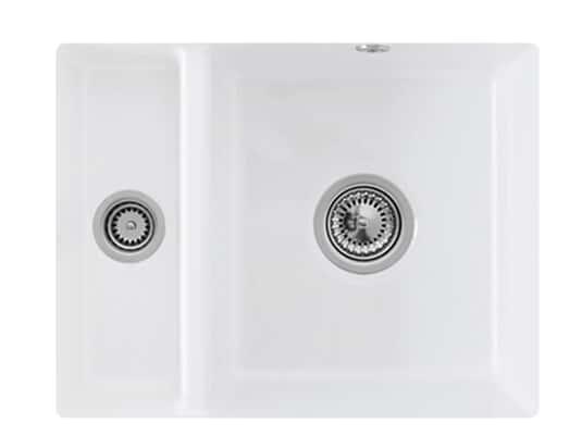 Villeroy & Boch Subway 60 XU Stone White - 6758 01 RW Keramikspüle Handbetätigung