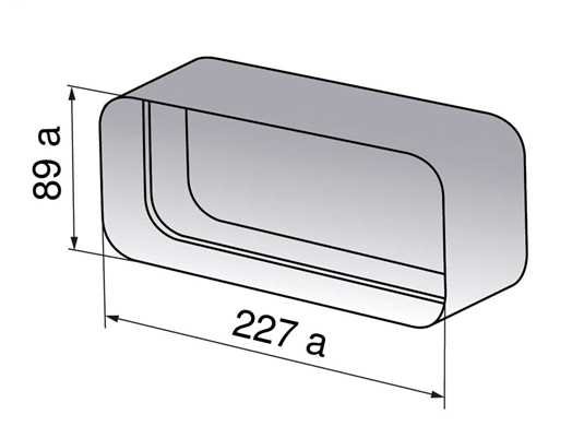 V-ZUG 1012781 Kanalverbinder