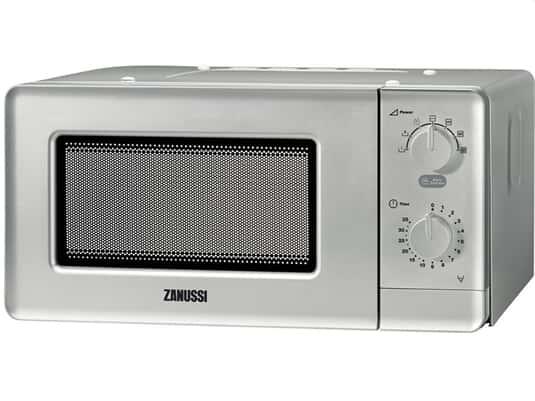 Zanussi ZFM15100SA Unterbau-/Stand-Mikrowelle Edelstahl