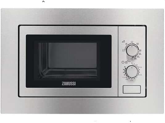 Zanussi ZSG20100XA Einbau-Mikrowelle mit Grill Edelstahl