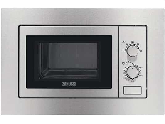 Zanussi ZSM17100XA Einbau-Mikrowelle Edelstahl