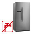 Gorenje NRS 9182 BX Side by Side Kühl-Gefrier-Kombination Inox