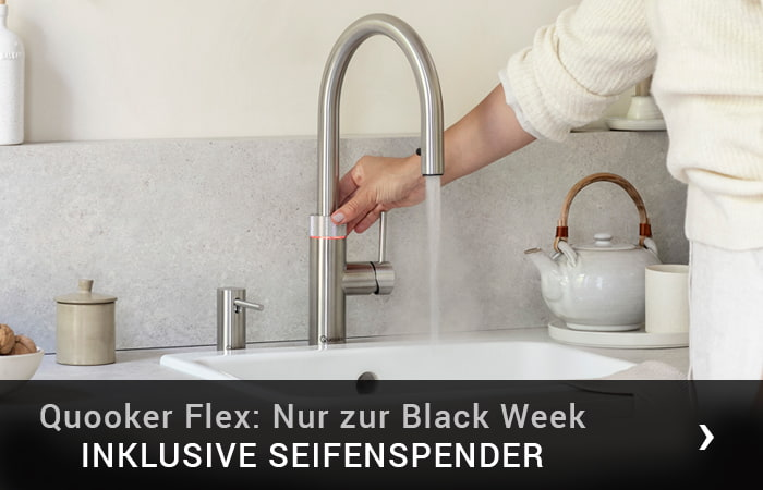 Quooker Flex Black Week 2020