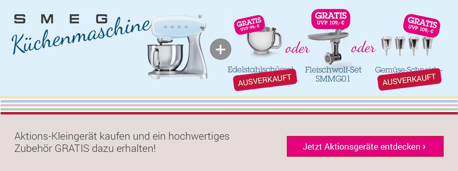 Smeg Kleingeräte-Aktion Küchenmaschine SMF01