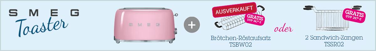 Smeg Kleingeräte-Aktion Toaster