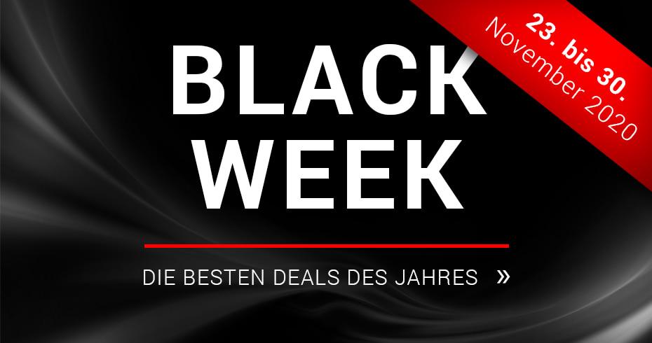 Black Week - unwiderstehliche Angebote!