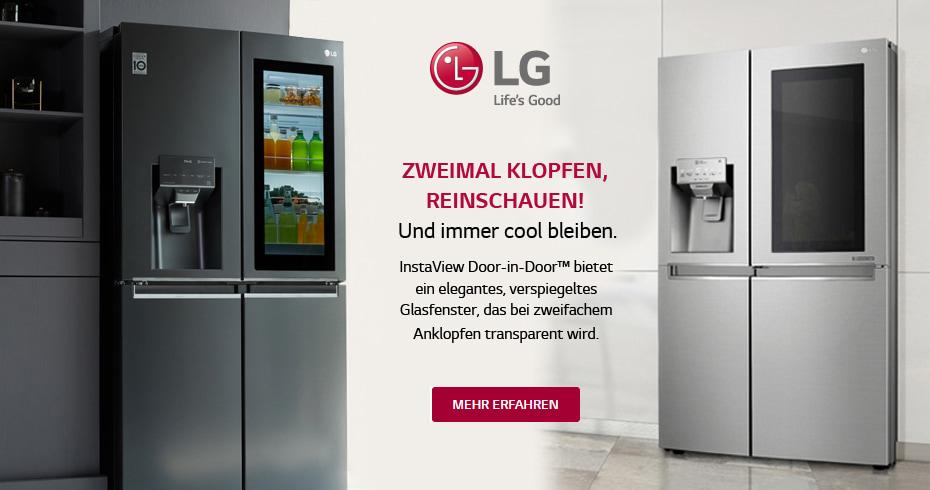 LG Electronics Side-by-Side Kühlschränke mit InstaView Door-in-Door