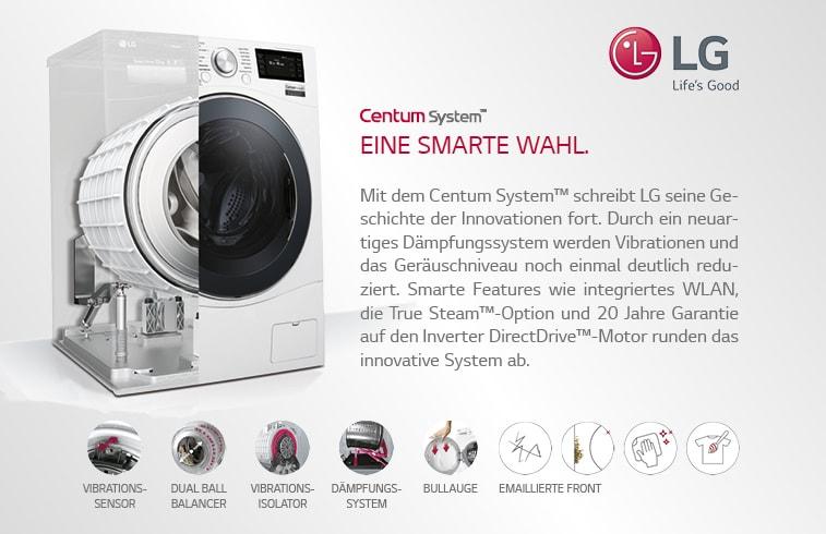 LG Electronics Waschmaschine mit innovativen Features