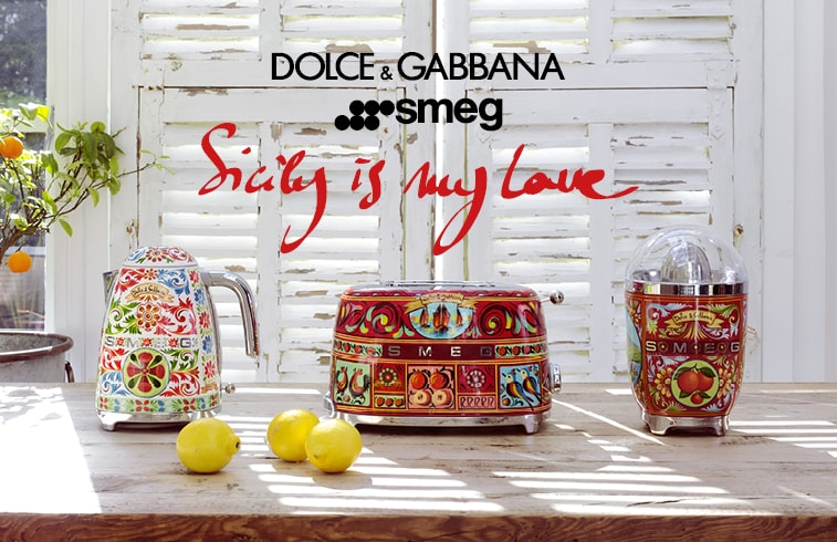 SMEG Dolce & Gabbana - Sicily is my Love