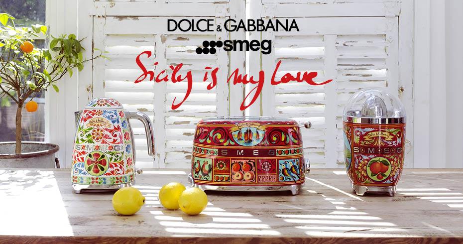 SMEG Dolce & Gabbana - Sicily is my Love
