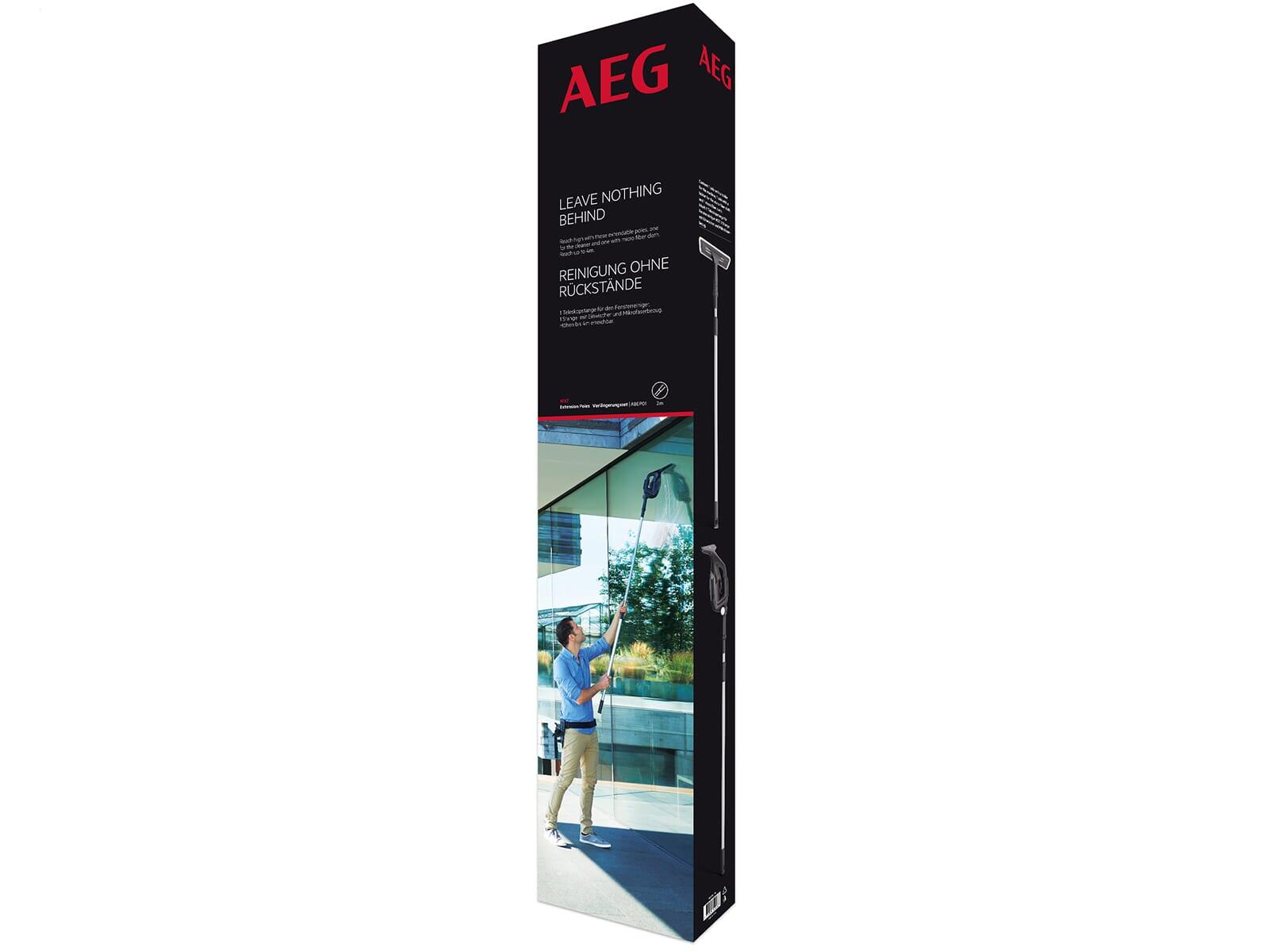 AEG ABEP01 Verlängerungsset für Fensterreiniger WX7