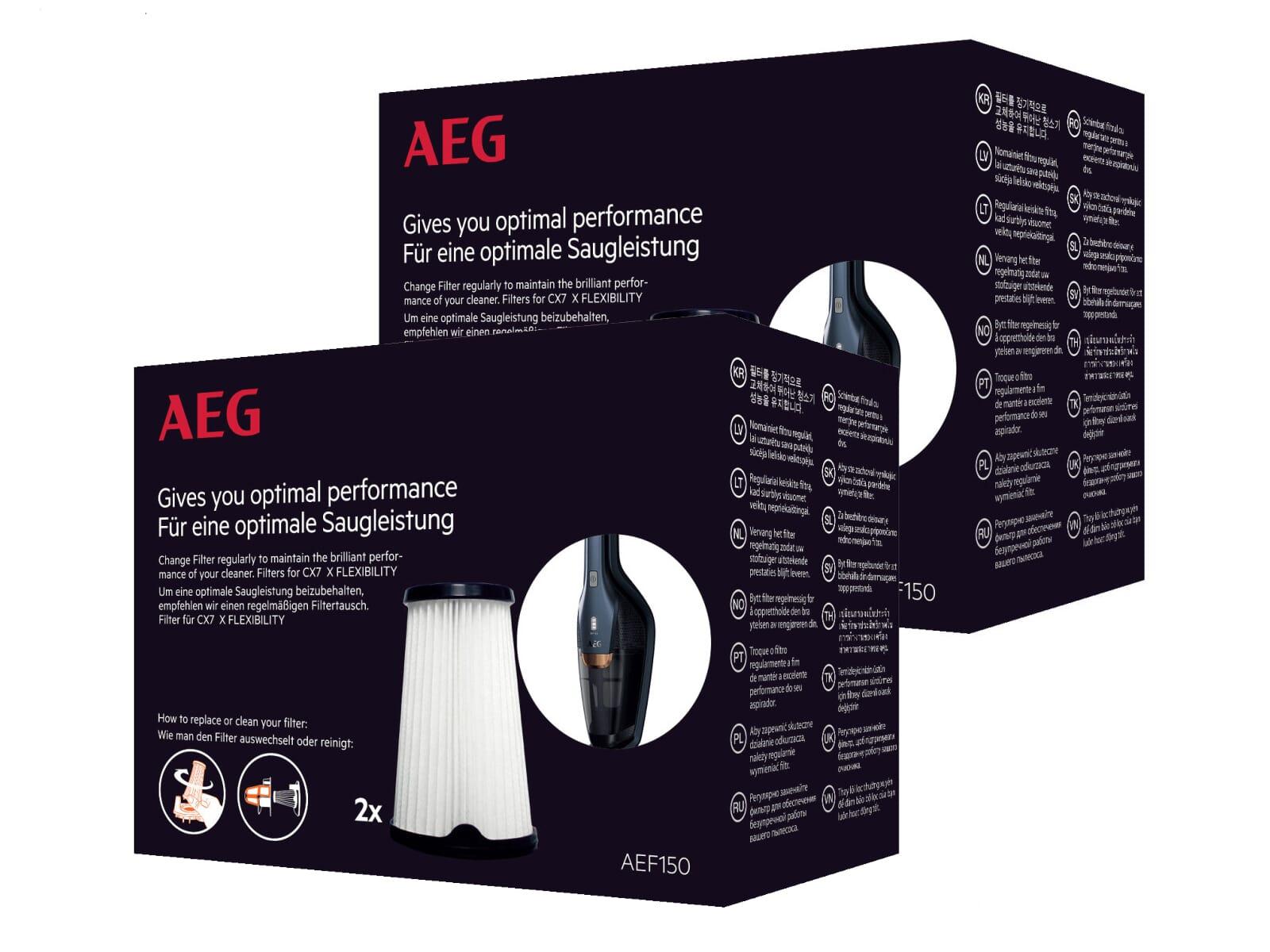 AEG AEF 150 4er Pack Innenfilter