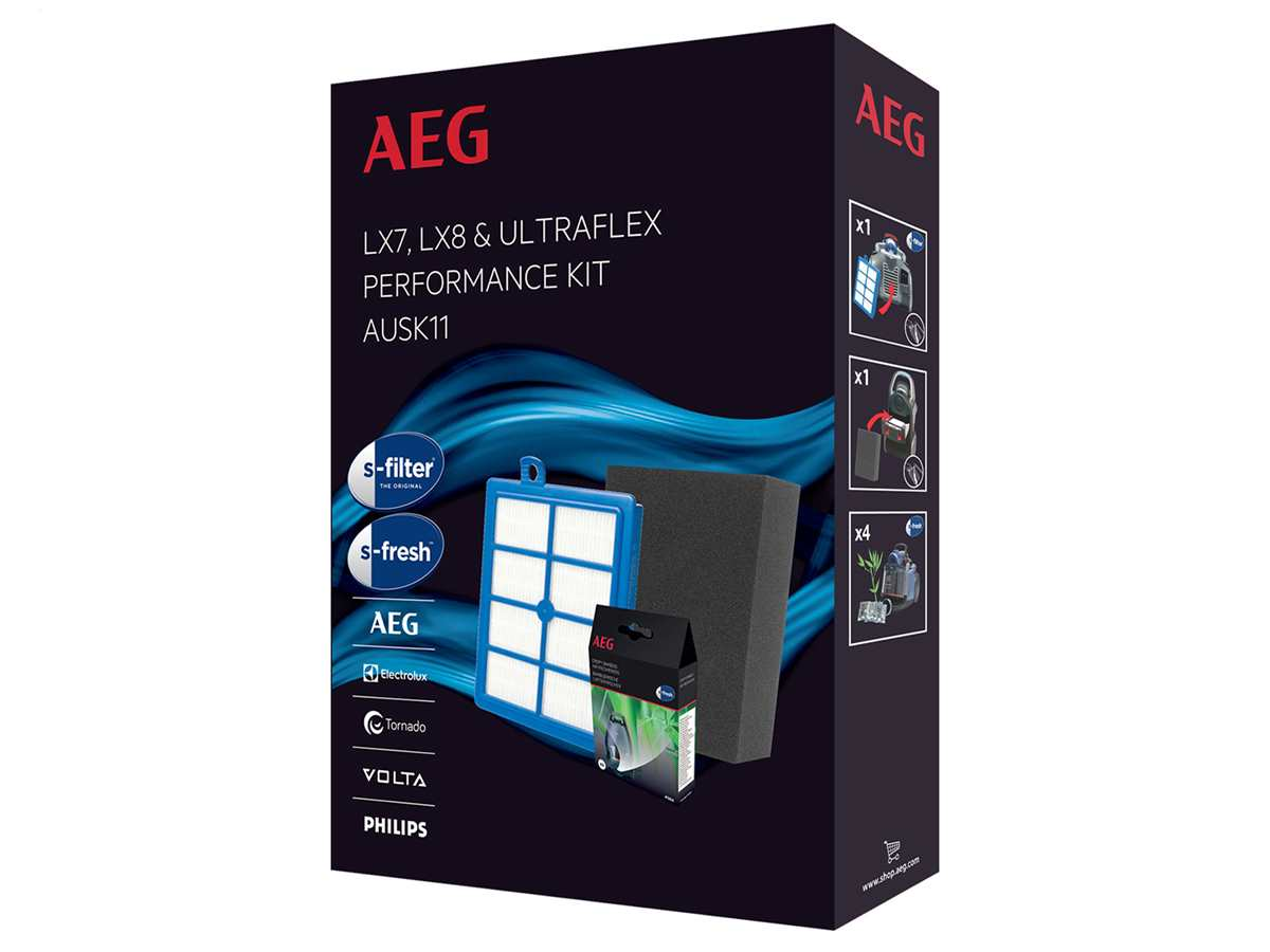 AEG AUSK11 Filter-Set für LX7, LX8, UltraFlex