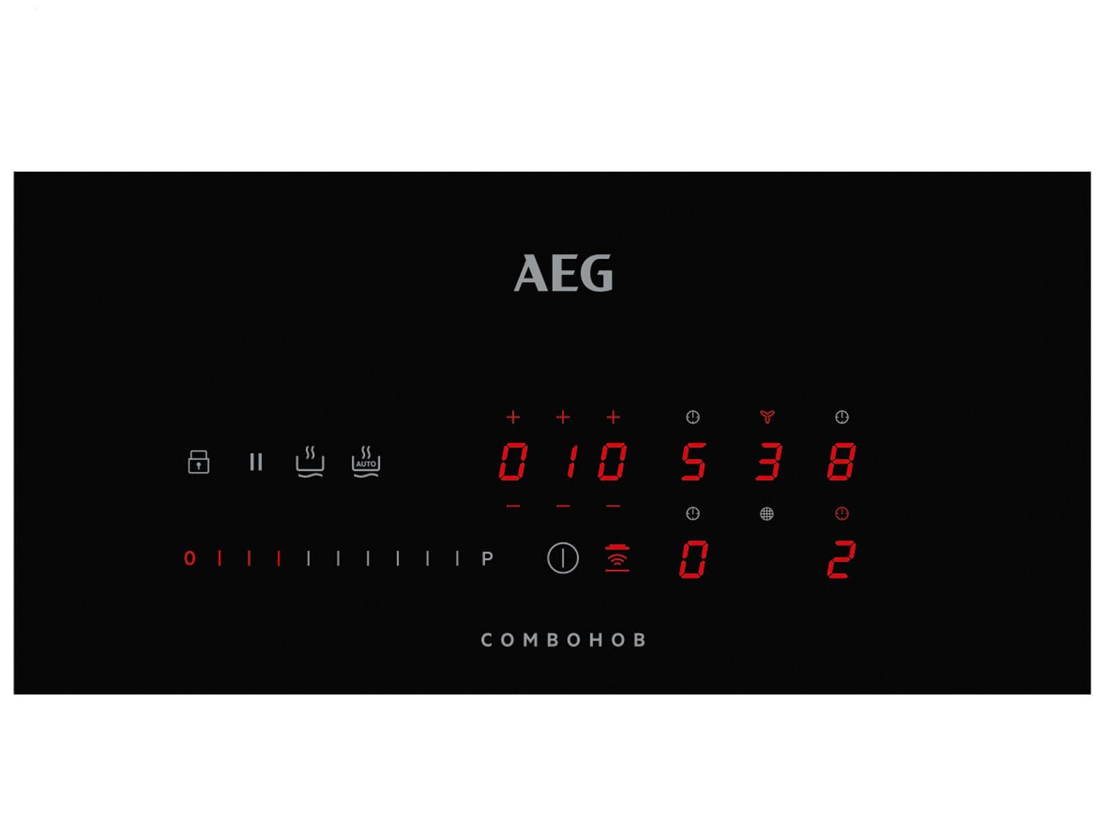 AEG CHE84U ComboHob Induktionskochfeld-Dunstabzug-Kombination