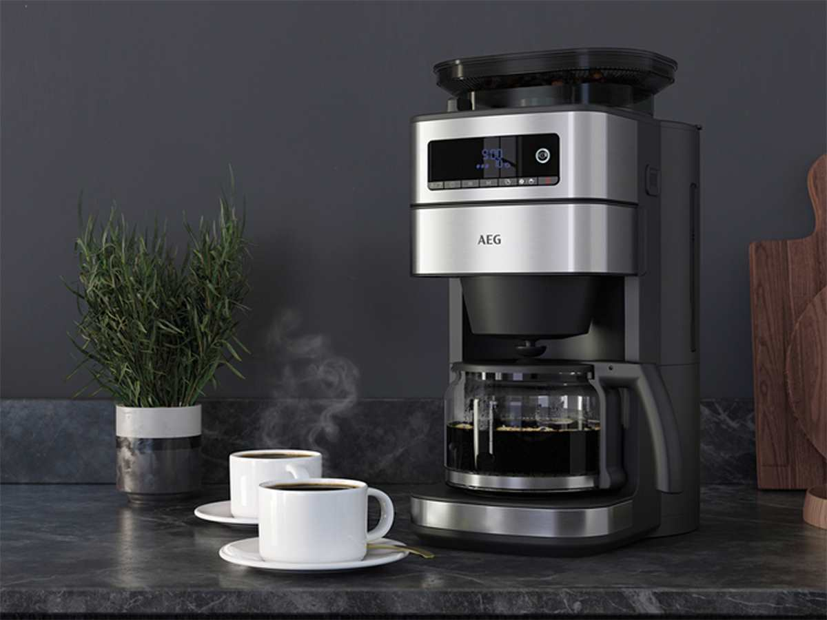 AEG CM6-1-5ST Kaffeemaschine Edelstahl