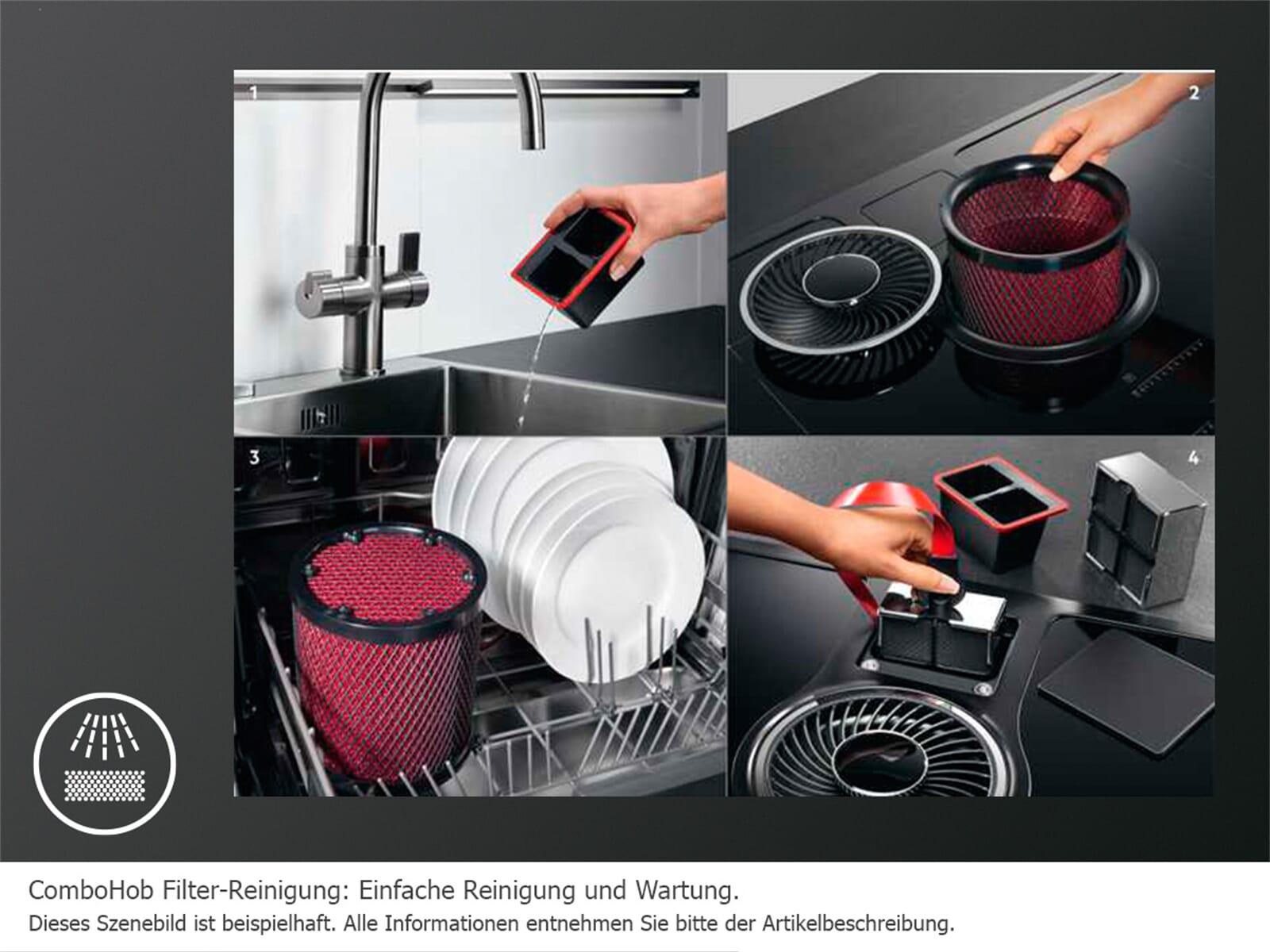 aeg combohob ide84242i b kochfeldabzug. Black Bedroom Furniture Sets. Home Design Ideas