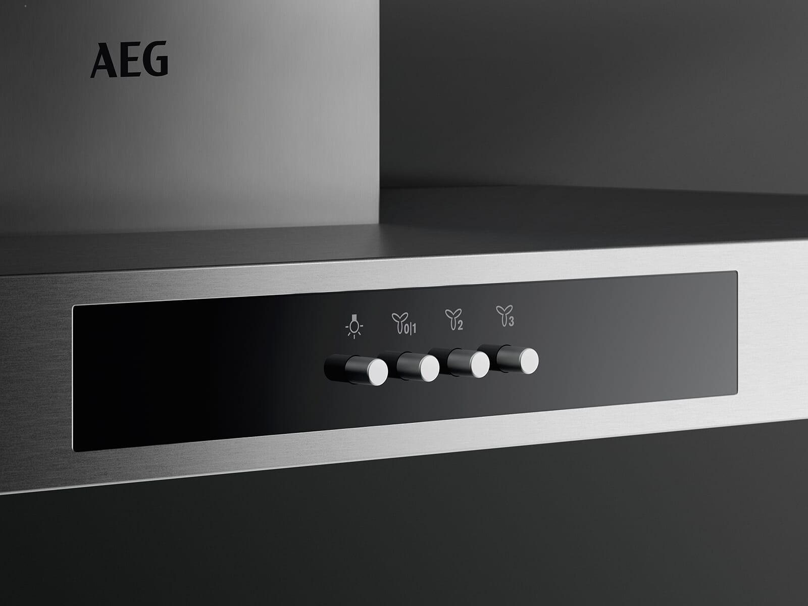 AEG DBB3651M Wandhaube 60 cm Edelstahl