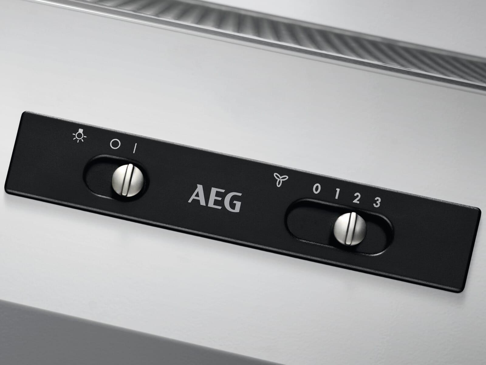 AEG DEB1621S Zwischenbauhaube Grau