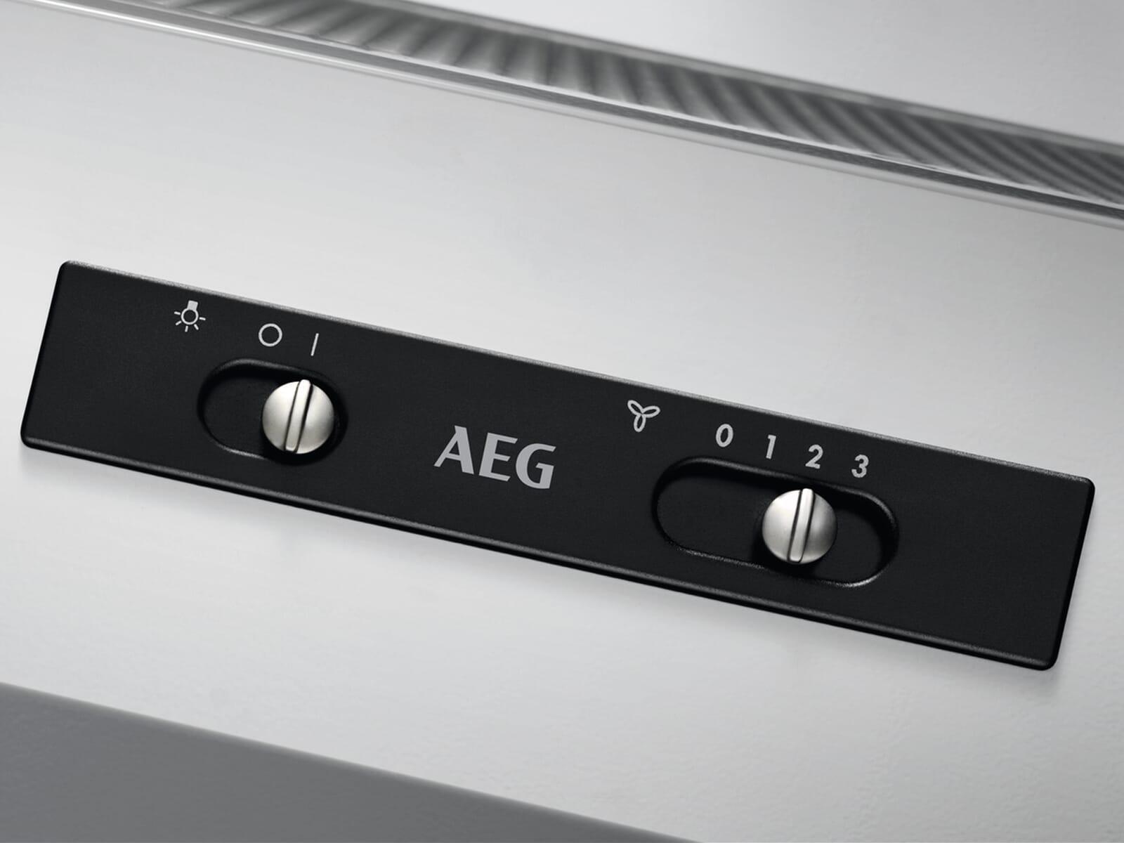 AEG DEB2531S Zwischenbauhaube Grau