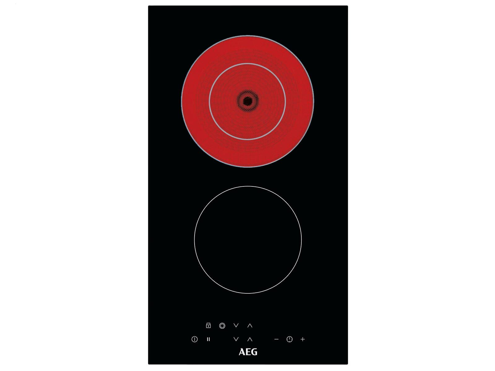 AEG HRB32310NB Domino Glaskeramikkochfeld autark