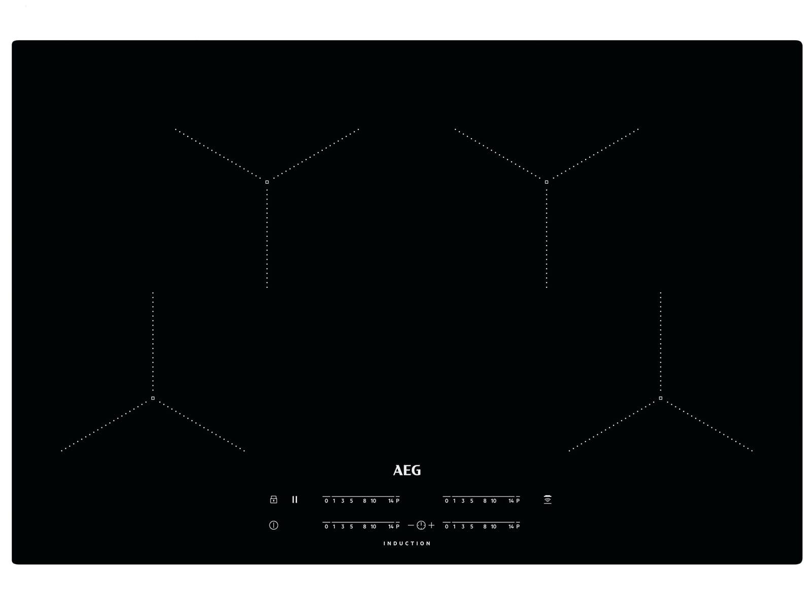 aeg ikb84431ib induktionskochfeld autark. Black Bedroom Furniture Sets. Home Design Ideas