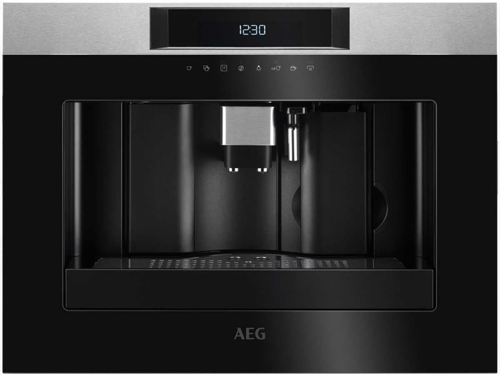 Aeg Kühlschrank Einbauen Anleitung : Aeg kkk m einbau espresso kaffeevollautomat edelstahl