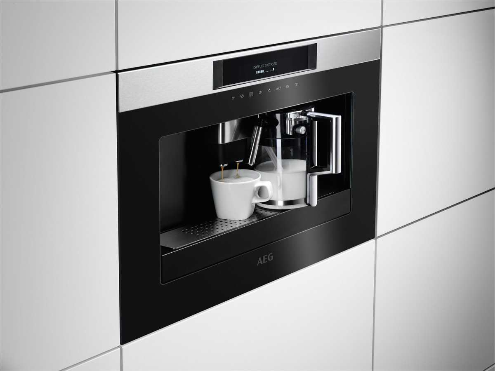 Aeg Kkk884500m Einbau Espresso Kaffeevollautomat Edelstahl
