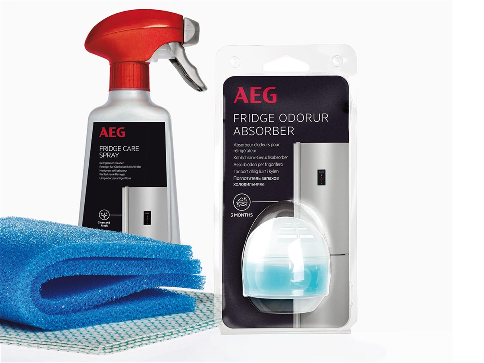 Kühlschrankreiniger : Aeg a6kk4105 kühl gefriergerät pflegeset