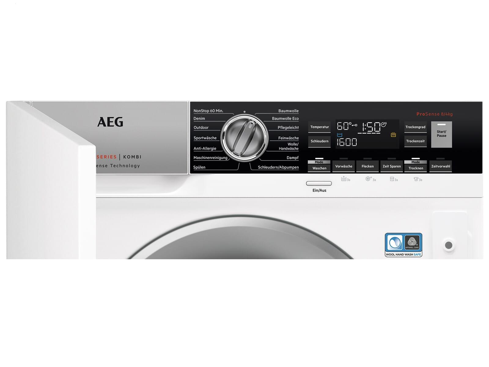 AEG L7WEI7680 Einbauwaschtrockner