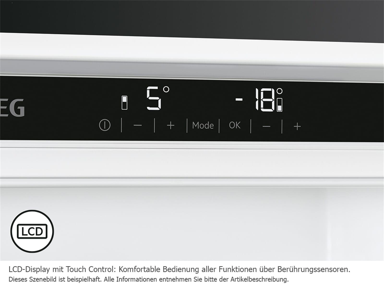 Aeg Kühlschrank Einbau : Aeg skz f einbaukühlschrank