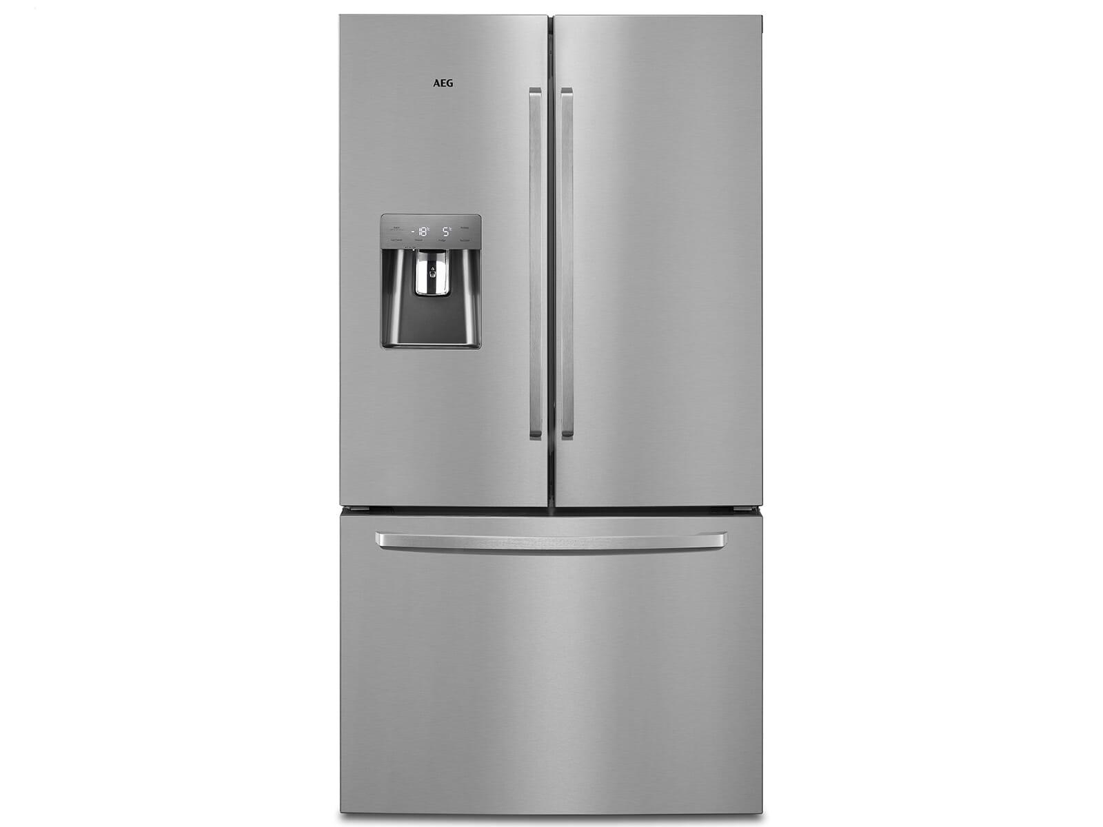Aeg Kühlschränke Ohne Gefrierfach : Aeg rmb nx french door kühl gefrierkombination edelstahl