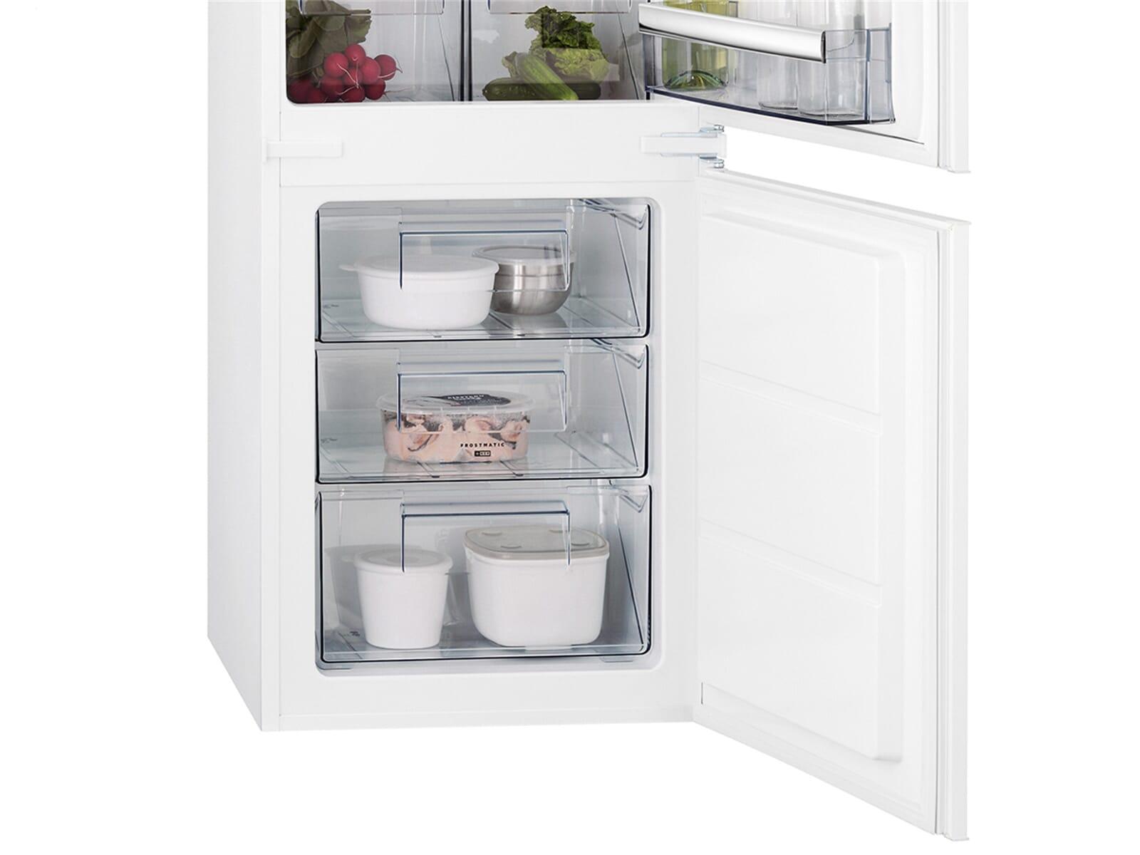 Aeg Kühlschrank Gefrierkombination : Aeg scb ls einbau kühl gefrierkombination
