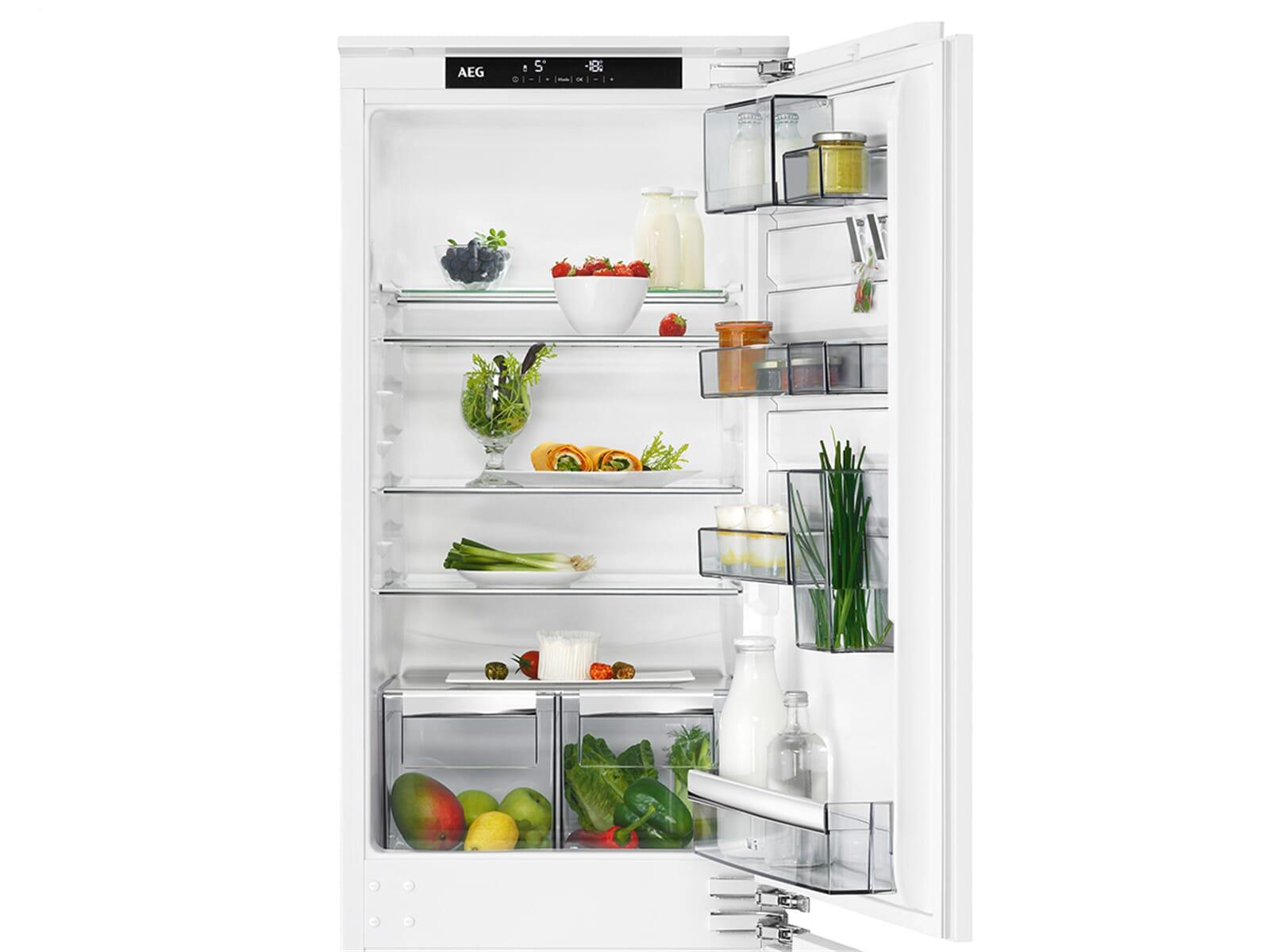 Aeg Kühlschrank Festtür Montage : Aeg sce nc einbau kühl gefrierkombination