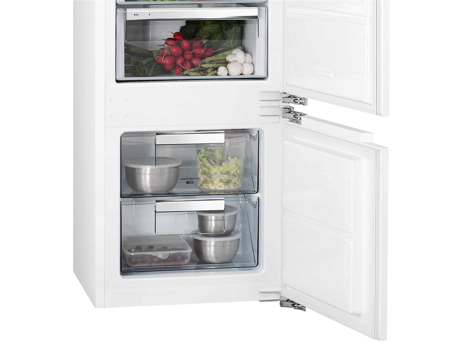 Aeg Kühlschrank Abtauen : Aeg sce81826zc einbau kühl gefrierkombination
