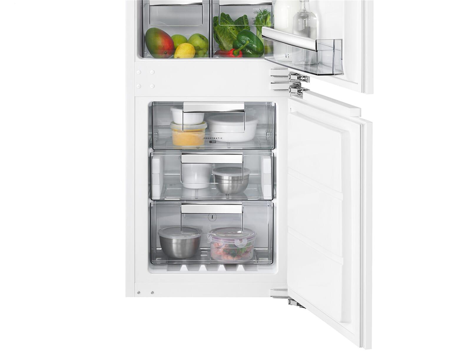 Aeg Kühlschrank Gefrierkombination Einbau : Aeg sce tc einbau kühl gefrierkombination